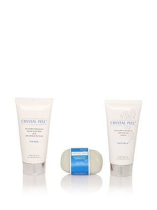 Crystal Peel Microdermabrasion His and Hers 3-Piece Set