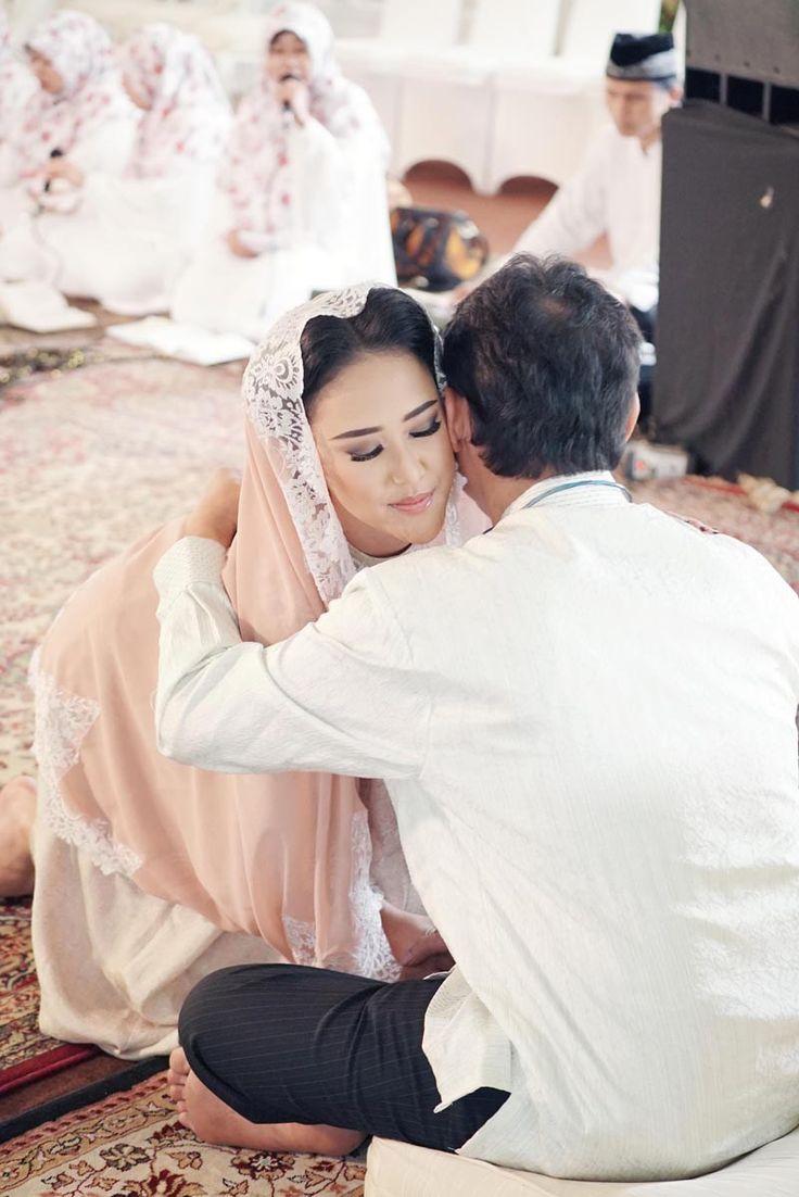 Pengajian Pernikahan  Sarah dan Indra di Jakarta