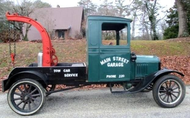 1925 FORD MODEL T TOW TRUCK