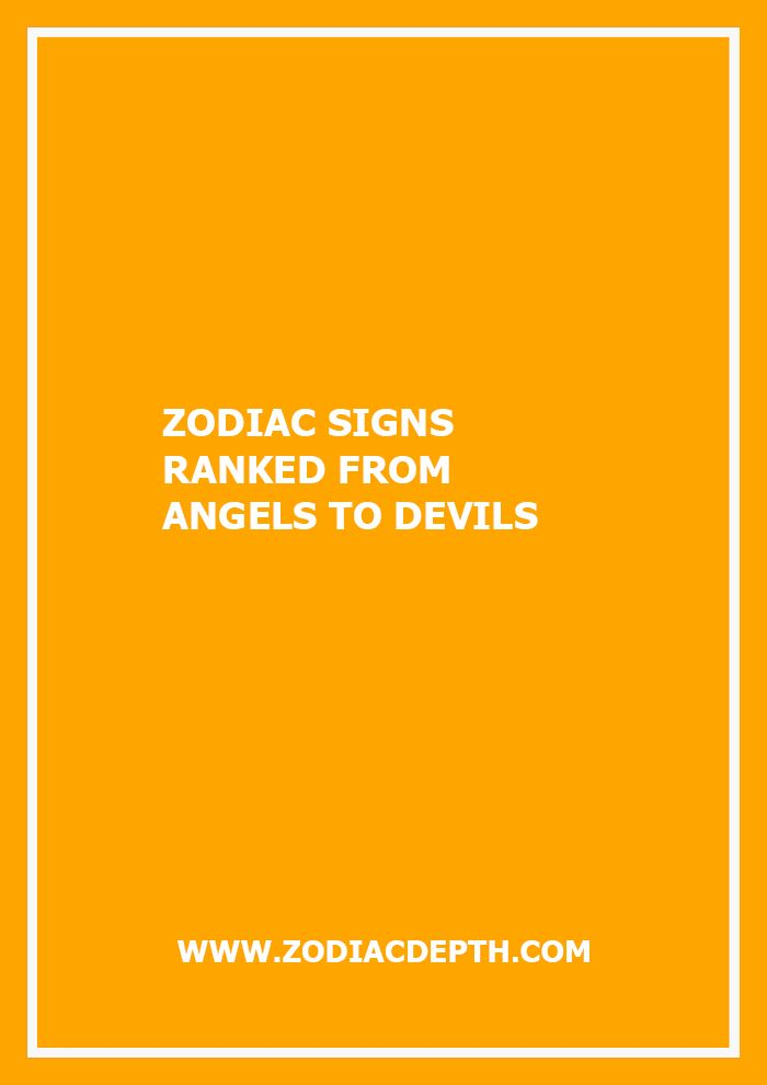 Are You An Angelic Type Or Do Prefer The Dark Side Find Out Where