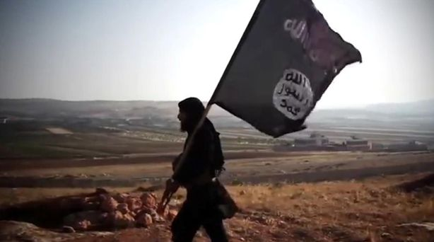 An American jihadi is attempting to recruit schoolgirls from Northern Ireland to join ISIS.
