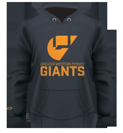 GWS GIANTS 2012 On-Field Fleece Hoody