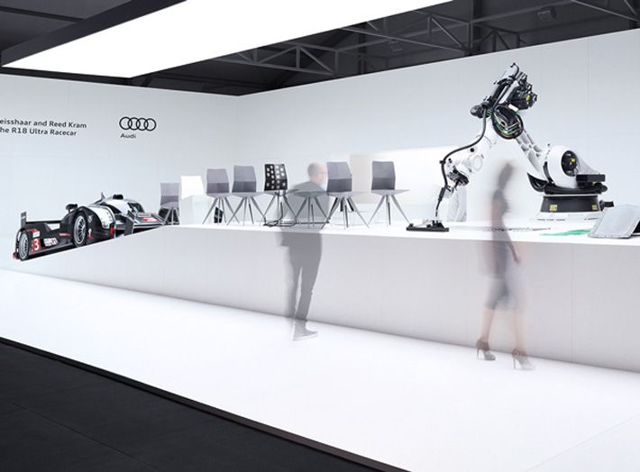 Presentation Of Ultra Chair At Design Miami 2012