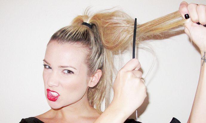 Avoid teasing your hair; even if it provides a lot of volume, it ruins the hair texture.#DIY #diybeauty  #jadabeauty #homeremedy #YoungLiving #Beauty #LongHair#Homemade #HairCare #Recipe#HairShampoo #Healthy #hairshampoo #wishtrend #helloeverybody#hair #hairconditioner#hairshampoo #hairtreatment#honey #beauty #beautysecret#hairsolution
