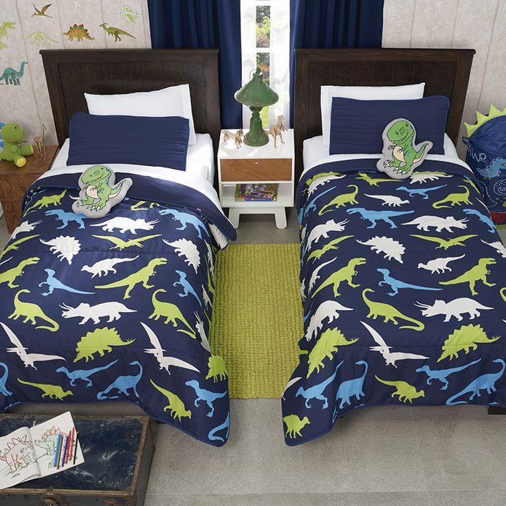 Dinosaur Comforter For Boy Reversible To Blue Guarantee