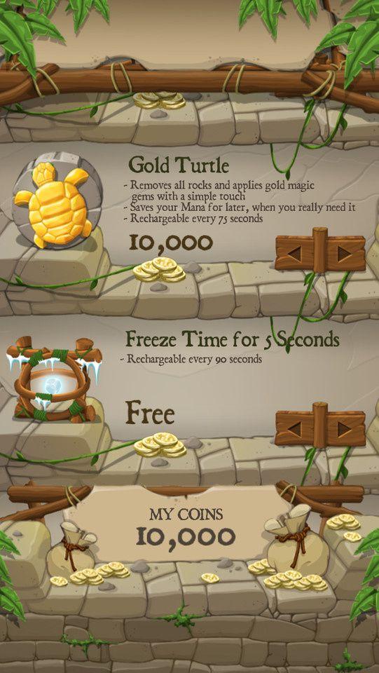Mayan Temple玛雅神庙游戏手机... - tonyCM采集到game UI - 花瓣