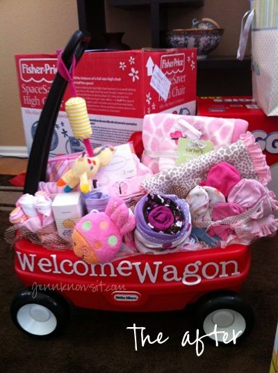 Super cute for a baby shower. few more other great ideas here #baby girl #baby boy- LOVE THIS!!