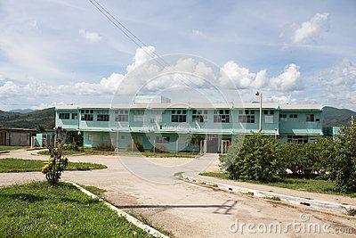 The main hospital in Trinidad (Cuba)