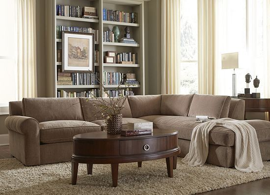 Andrea Living Room Sectional | Havertys Furniture