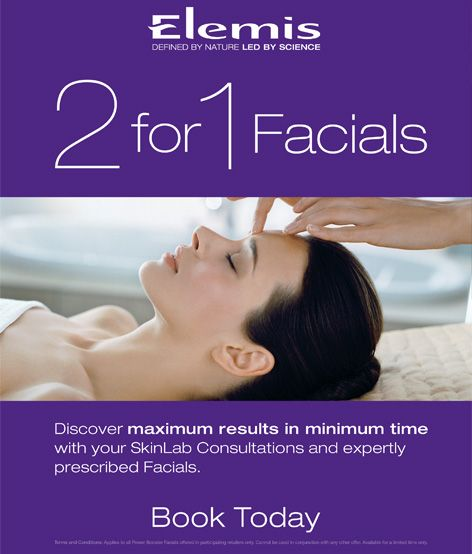 Purchase a 2 for 1 Facial (R260) at the Elemis Sandton Edgars Spa, fill in a CRM card mentioning Beauty Belle and your name will be put in a draw to WIN an Elemis Hamper valued at R 1910. The hamper contains: Skin Nourishing Milk Bat Skin Nourishing Body Scrub Skin Nourishing Body Lotion *Draw will be held 1 October and winner contacted via e-mail. Contact Edgars Sandton on +27 (0) 11 784 0918 to book your treatment or visit the spa to make your appointment.