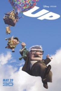 Disney Pixar's Up! This movie brings me to tears so sad but sweet at the same time, my daddy's favorite, I went out& bought it for him:)