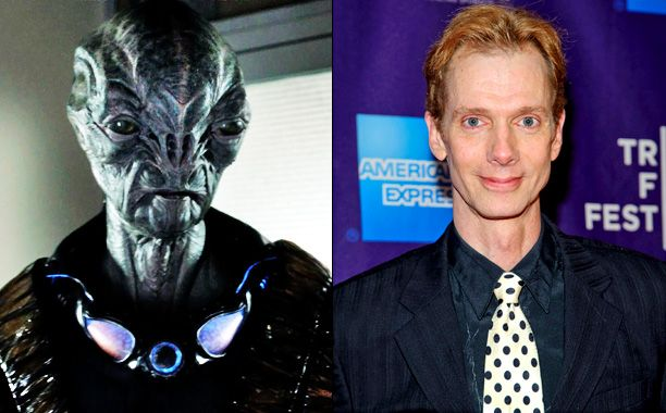 falling skies photos | Falling Skies': How Doug Jones transformed into alien warrior Cochise ...