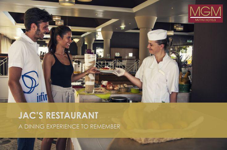 Enhance your vacation experience with the best culinary delights from Jac's Restaurant at #CPO |  Mejora tus vacaciones con las delicias culinarias de Jac's Restaurant en #CPO | Aproveite as suas ferias com as delicias de culinária do nosso restaurant Jac´s no Clube Praia da Oura