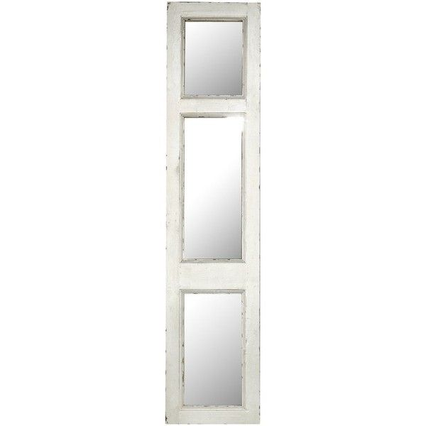 Decorative Mirror Panel Wall Décor ($334) ❤ liked on Polyvore featuring home, home decor, mirrors, wall mirror, wall mounted mirror, interior wall decor and home wall decor
