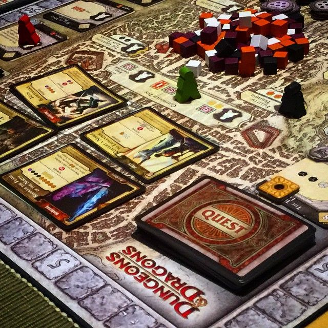 This weekend it's time for some #LordsofWaterdeep looks a little complicated, don't be put off, simpler than it seems and great fun. #DandD #ForgottenRealms #DungeonsandDragons #TabletopGames #boardgames