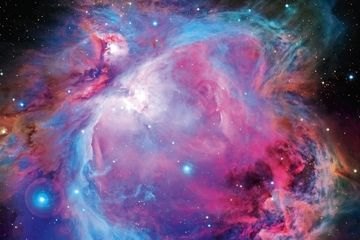 Once thought to be part of the Orion nebula, the star cluster NGC 1980 is actually a separate entity.