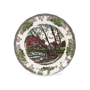 Johnson Brothers Friendly Village Bread and Butter Plate--- I HAVE NINE OF THESE BREAD AND BUTTER  PLATES.