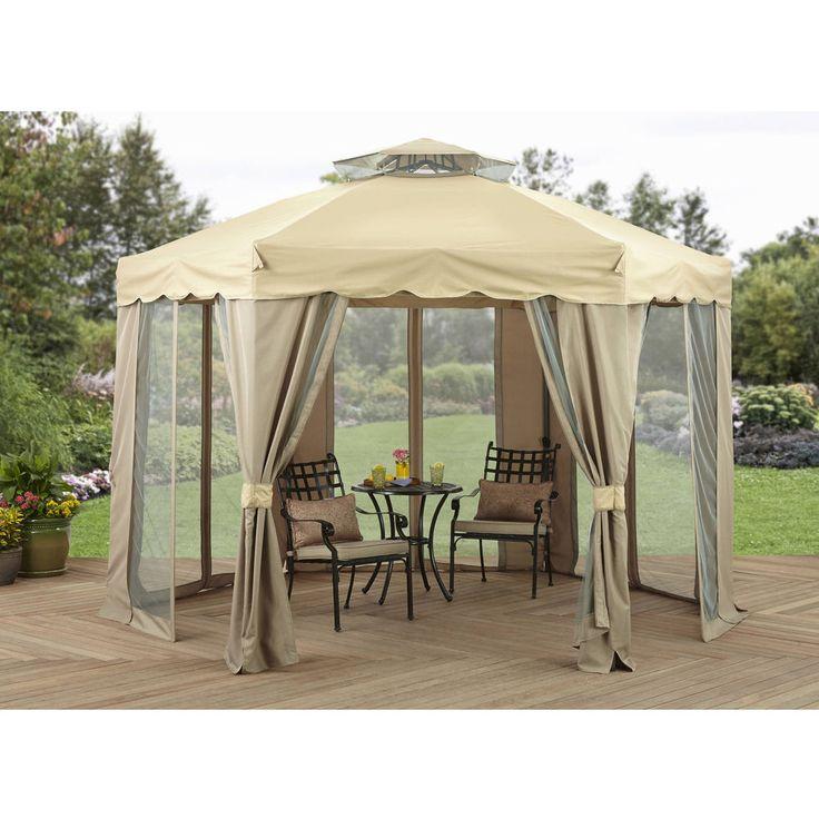 Outdoor Canopy Gazebo 12 X Yard Garden Patio Structure Sunshade Cover Netting BetterHomesandGardens