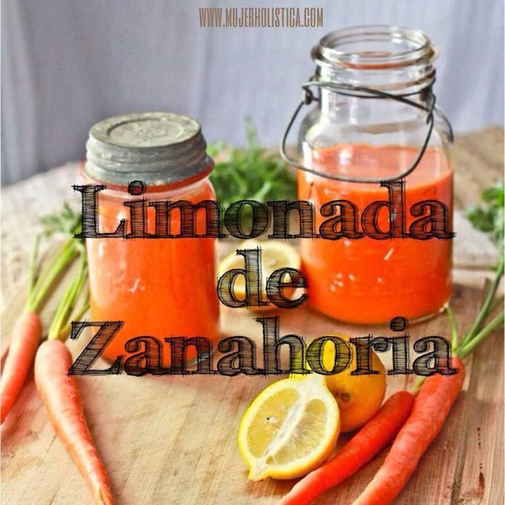 3 Zanahorias 2 Limones 2 Tazas de hielo 1/2 pulgada de jengibre stevia o azúcar mascabo a gusto. Preparación: Zanahorias, limones pelados y jengibre a la juguera, en la licuadora con el hielo y stevia o mascabo a gusto.  Es bueno variar siempre los jugos para que tu cuerpo reciba diferentes nutrientes, este lo puedes hacer hasta 3 veces por semana.