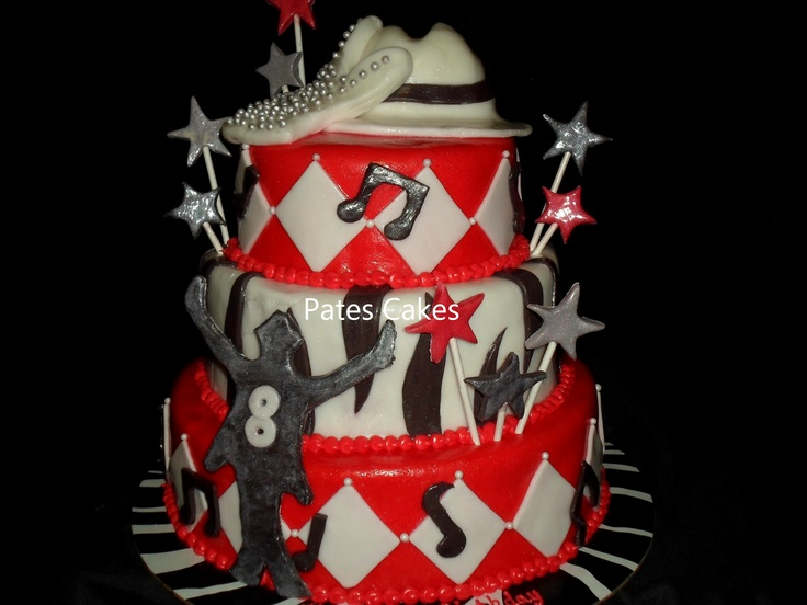 Michael Jackson birthday cake