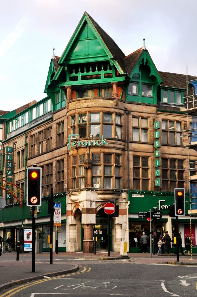 Leicester, UK (Total landmark -& where I first encountered an odour of the middle-classes, ie perfume mixed with baking!)