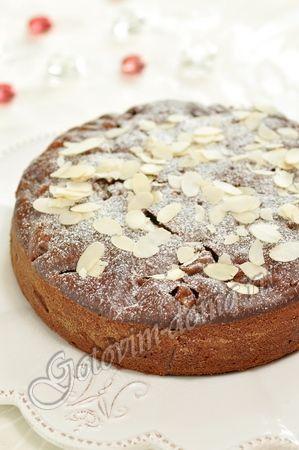 Медовый кекс с грушами (постный)