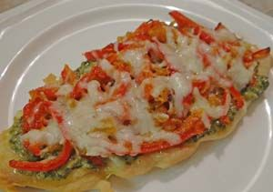 Low Carb Gluten Free Pizza with Chicken Breast Crust