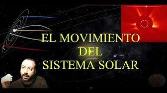 El movimiento del Sistema Solar en la Galaxia.