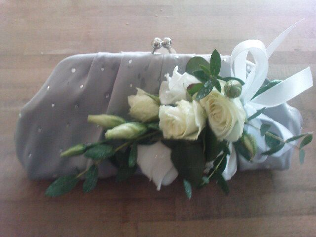 #bag corsage #mother of the bride/ groom by Lily White florist