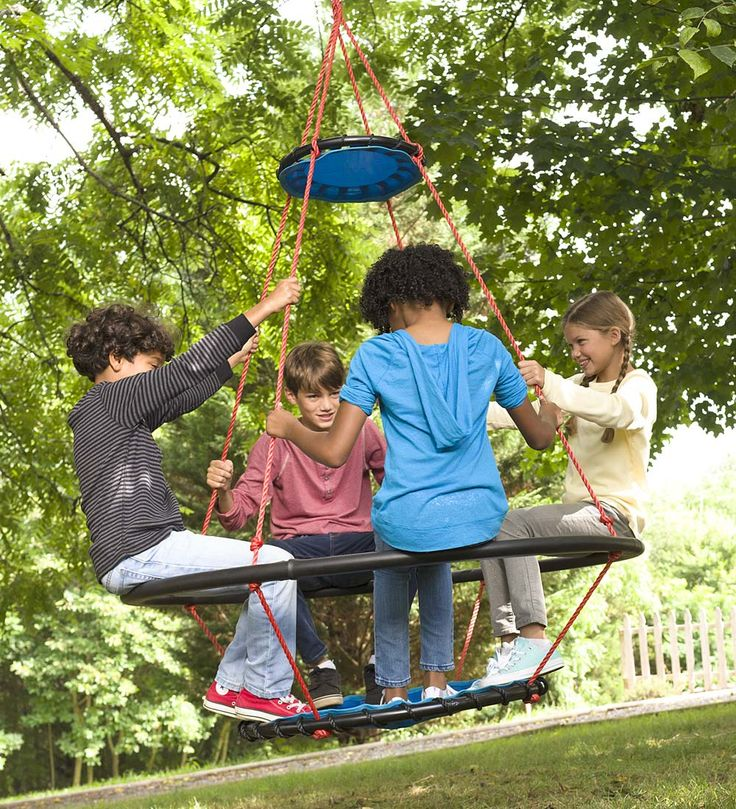 Vortex Spinning Ring Swing Outdoor Play