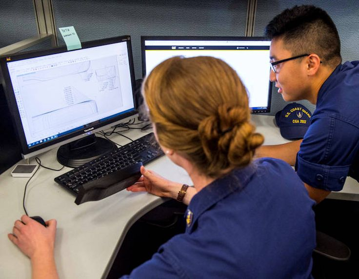 A group of cadets at the U.S. Coast Guard Academy are working on designs to replace some of the oldest ships in the Coast Guard's fleet of cutters.