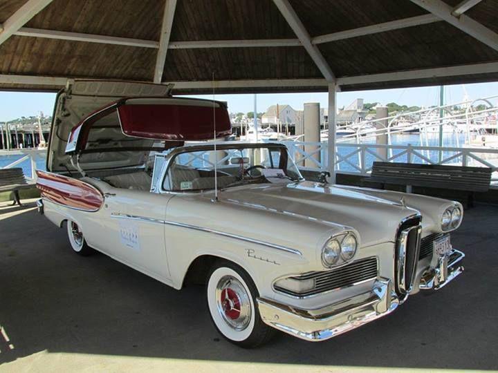 1000  images about EDSEL on Pinterest   Bermudas, Cars and Sedans