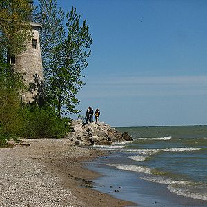 Pelee Island, Ontario, Canada, north shore Lake Erie