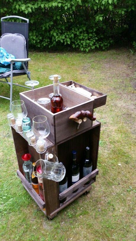 Party Roller (Hausbar) für den Garten