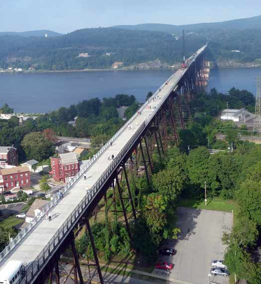 Walkway over the Hudson, Poughkeepsie, New York: Once we reached NY from GA, I had the nauseating pleasure of crossing this bridge. It was a spectacular view from above. I hear that the Hudson River is 400 feet deep in places. YIKES!