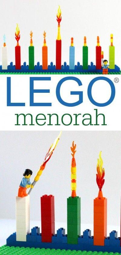 Celebrate Hanukkah the LEGO Way! - fun way to celebrate Hanukkah for Lego fans!