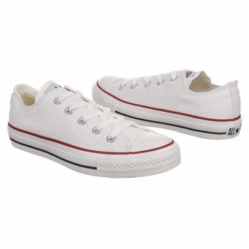 Converse Women's All Star Core Ox Optical White These Converse