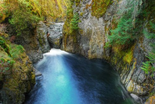 Englishman River Falls Park, Vancouver Island, Canada