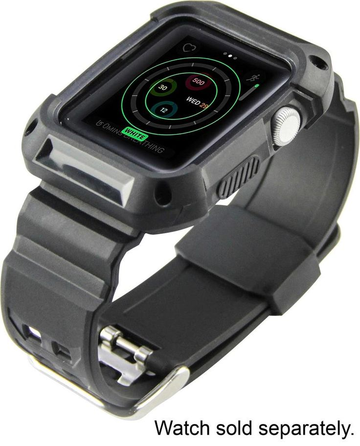 ZEN Factory - Rugged Watch Strap for Apple Watch™ 42mm - Black