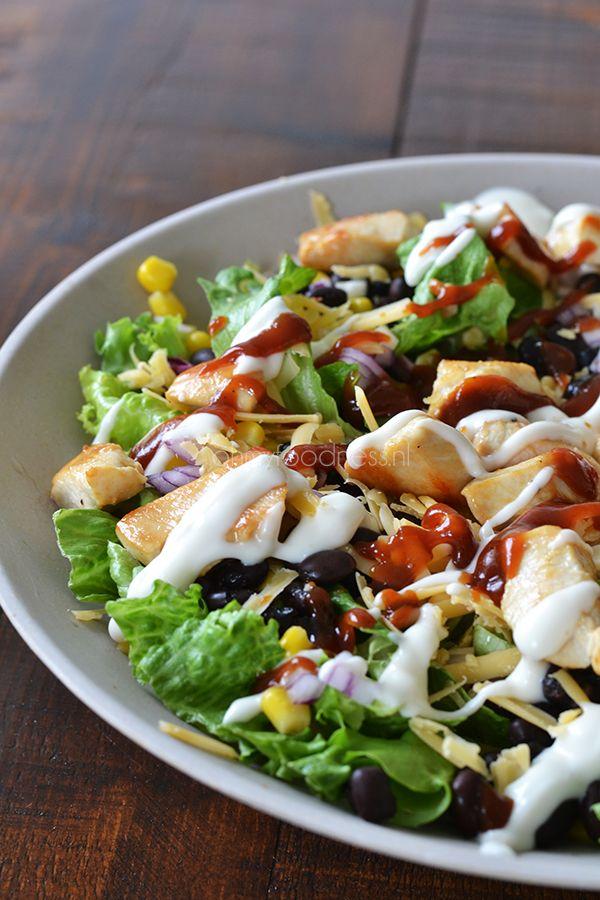 OMF's Studentenkeuken: BBQ Chicken salade - OhMyFoodness