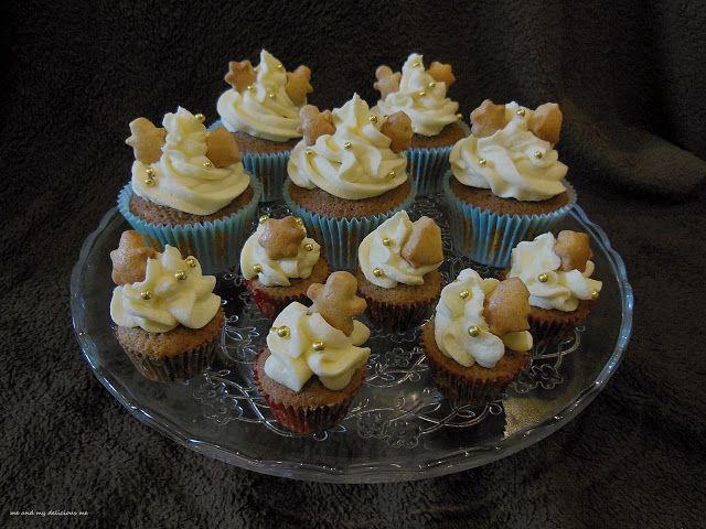Me and my delicious me: Předvánoční cupcakes!!