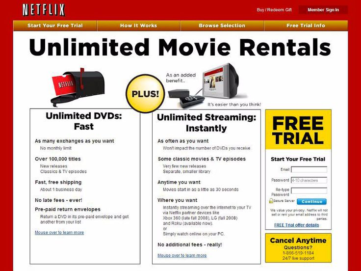 Netflix's website in 1999 looked nothing like it does today  here's how it has evolved over the years (NFLX)