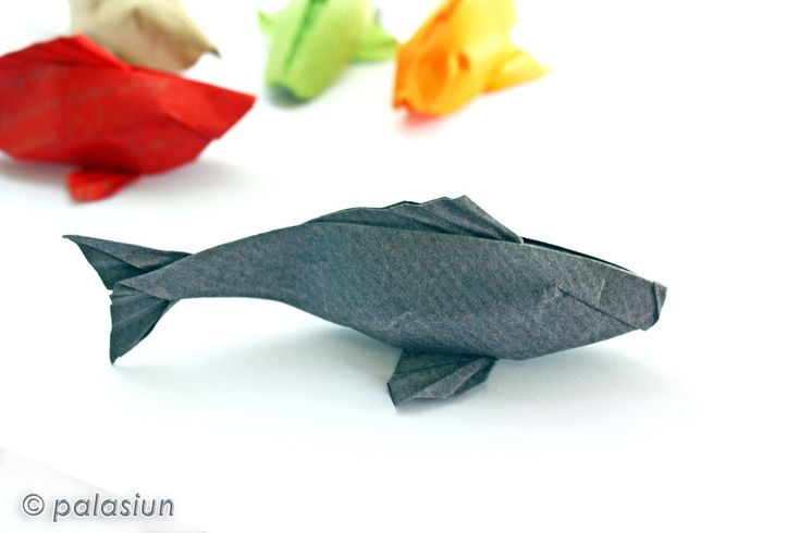 Best 25 origami fish ideas on pinterest koi origami for Origami koi fish easy