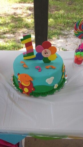 cake for girls baby tv cake for my baby i got it from https 2235