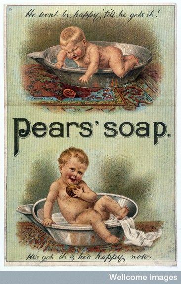 Advert for Pears' Soap (PUBLIC DOMAIN)