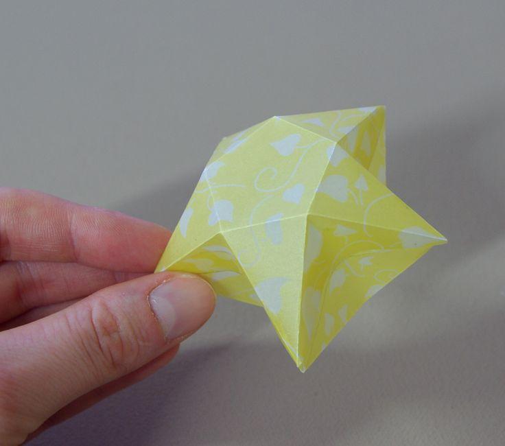 origami sterne 3d falten faltanleitung lichterkette basteln sterne selber machen anleitung diy. Black Bedroom Furniture Sets. Home Design Ideas