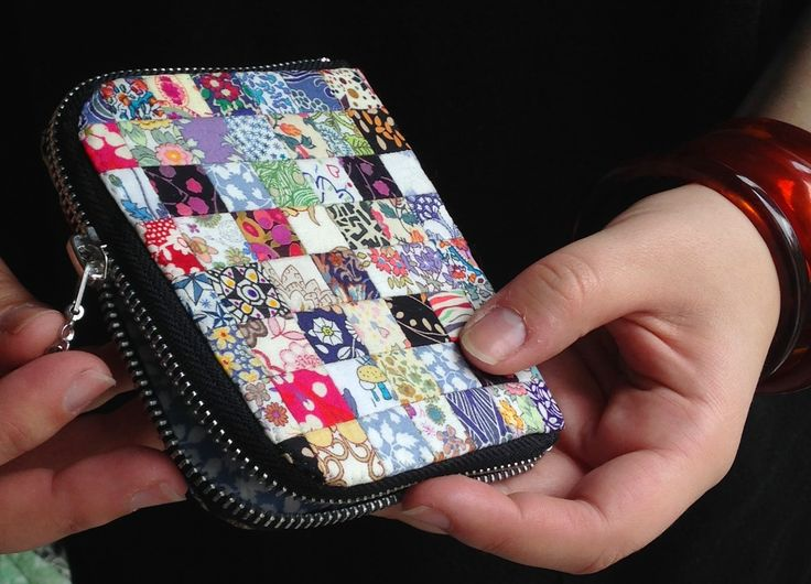Small Zipper Wallet Tutorial By A Friend Blue Moth March