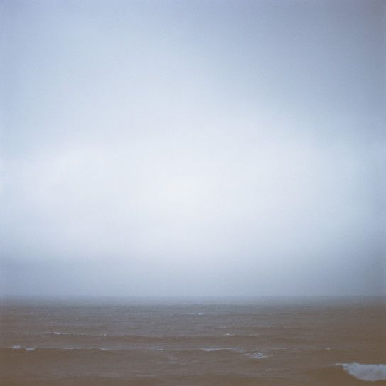"""Photographer Chris Warnes explores the unique landscape of the ocean the old school way- with a Hasselblad camera. Inspired by the simplicity of capturing a moment suspended in time, Chris describes his latest photographic series; Wet II, as """"An abstract take on the ocean, using light, reflection and the subtle colours of water"""". // Available work 'Wet 6' by Chris Warnes"""