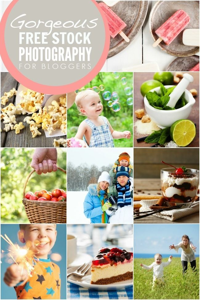 Free Stock Imagery for Bloggers !