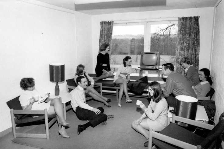 Lounge in Residence. 1970. © William McCallum.